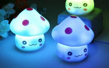 Best mushroom night light designs